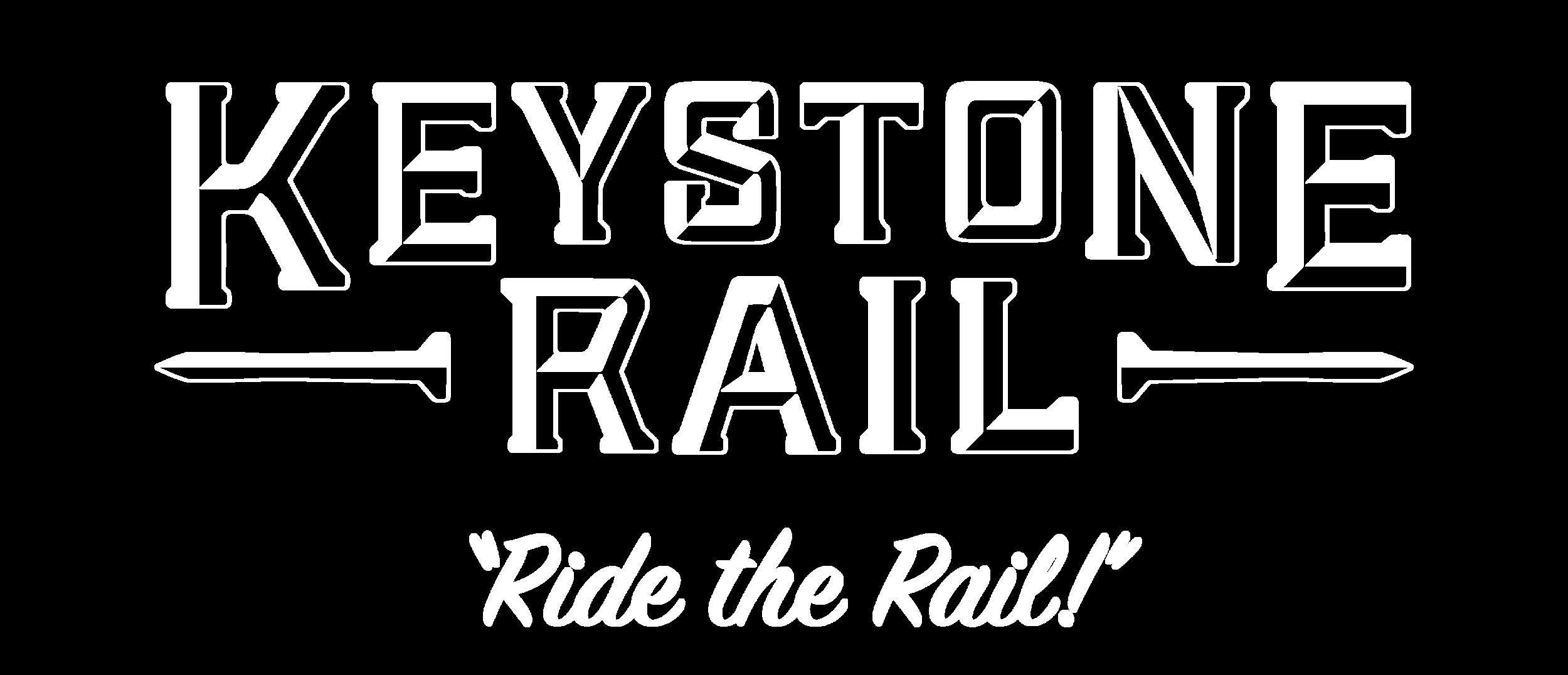 Keystone Rail Full Logo Reversed