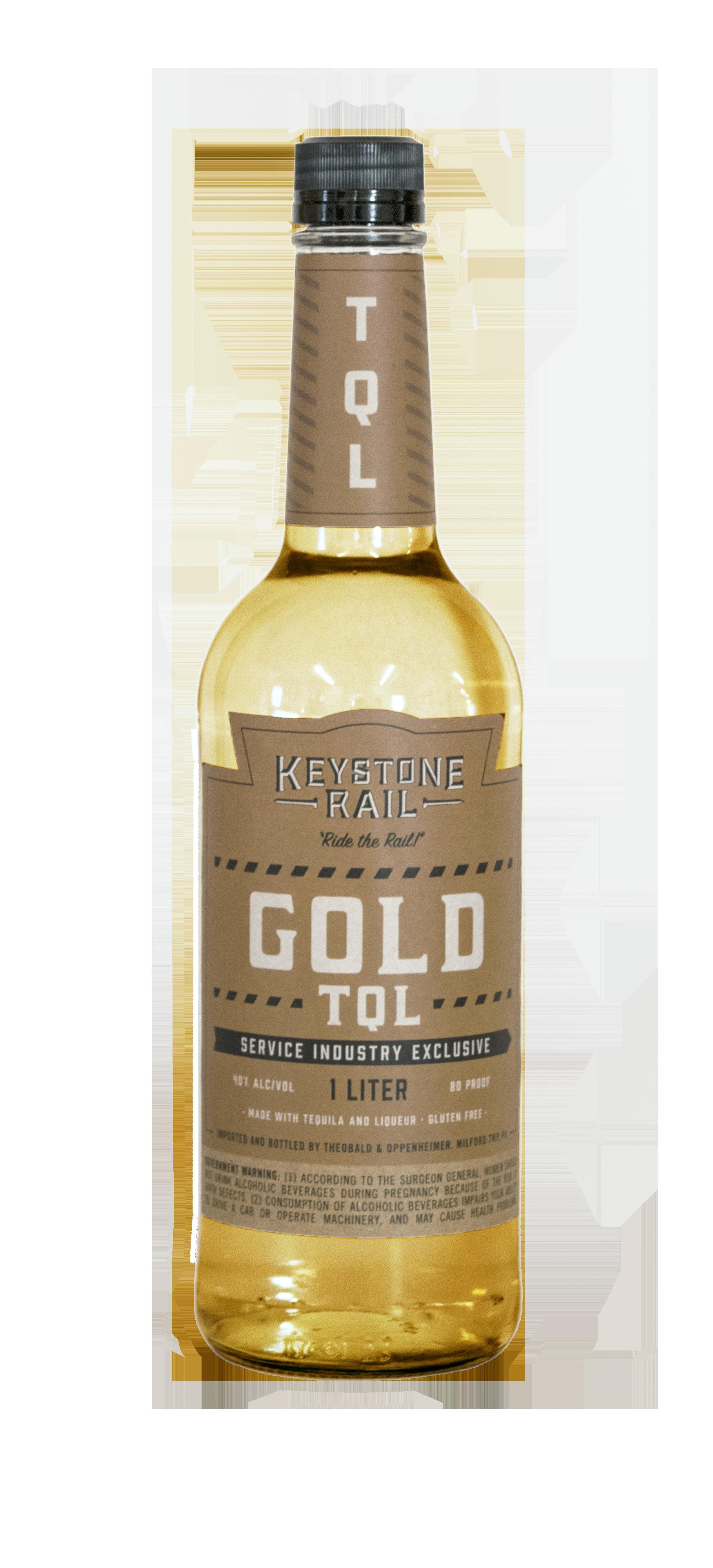 Keystone Rail Gold Tequila
