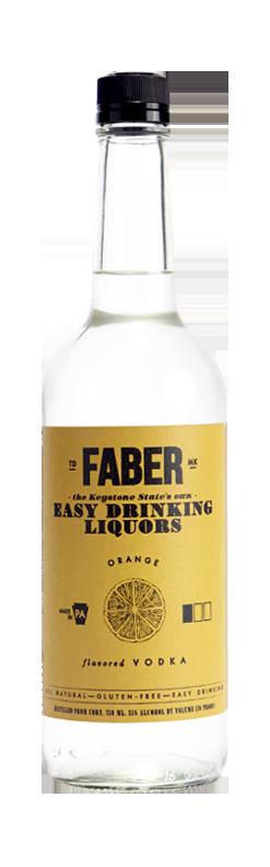 Faber Orange Vodka