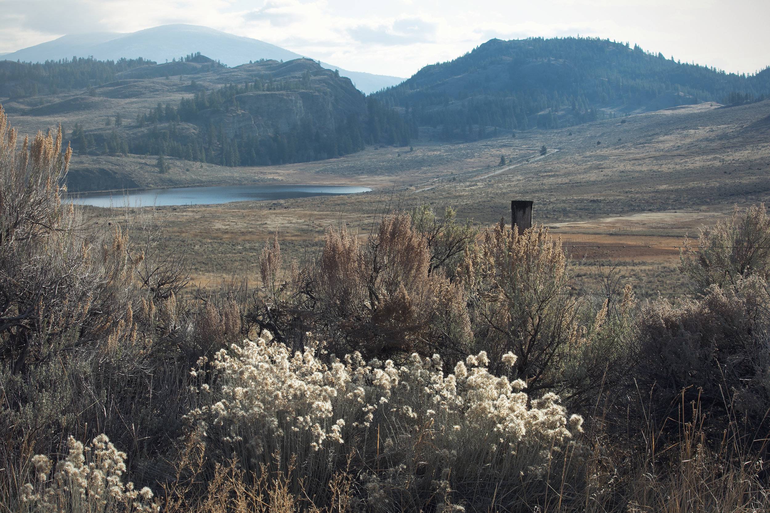 White Lake - stunning South Okanagan backdrop