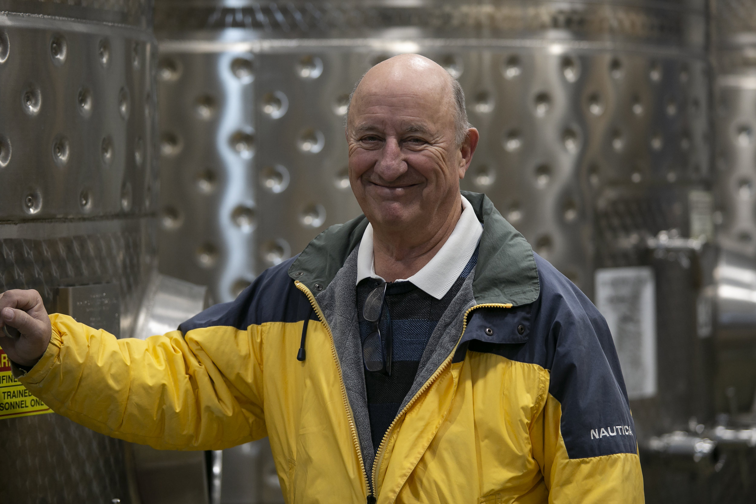 Jim Wyse - founder and proprietor of Burrowing Owl Winery