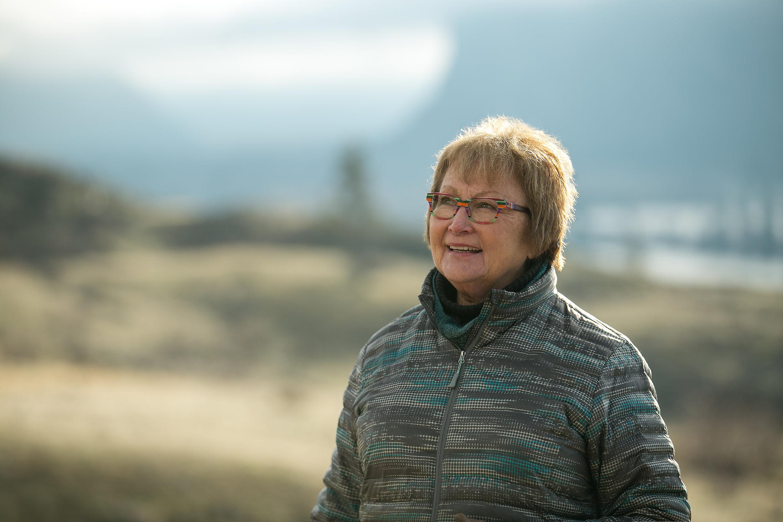 Doreen Olson of South Okanagan-Similkameen National Park Network