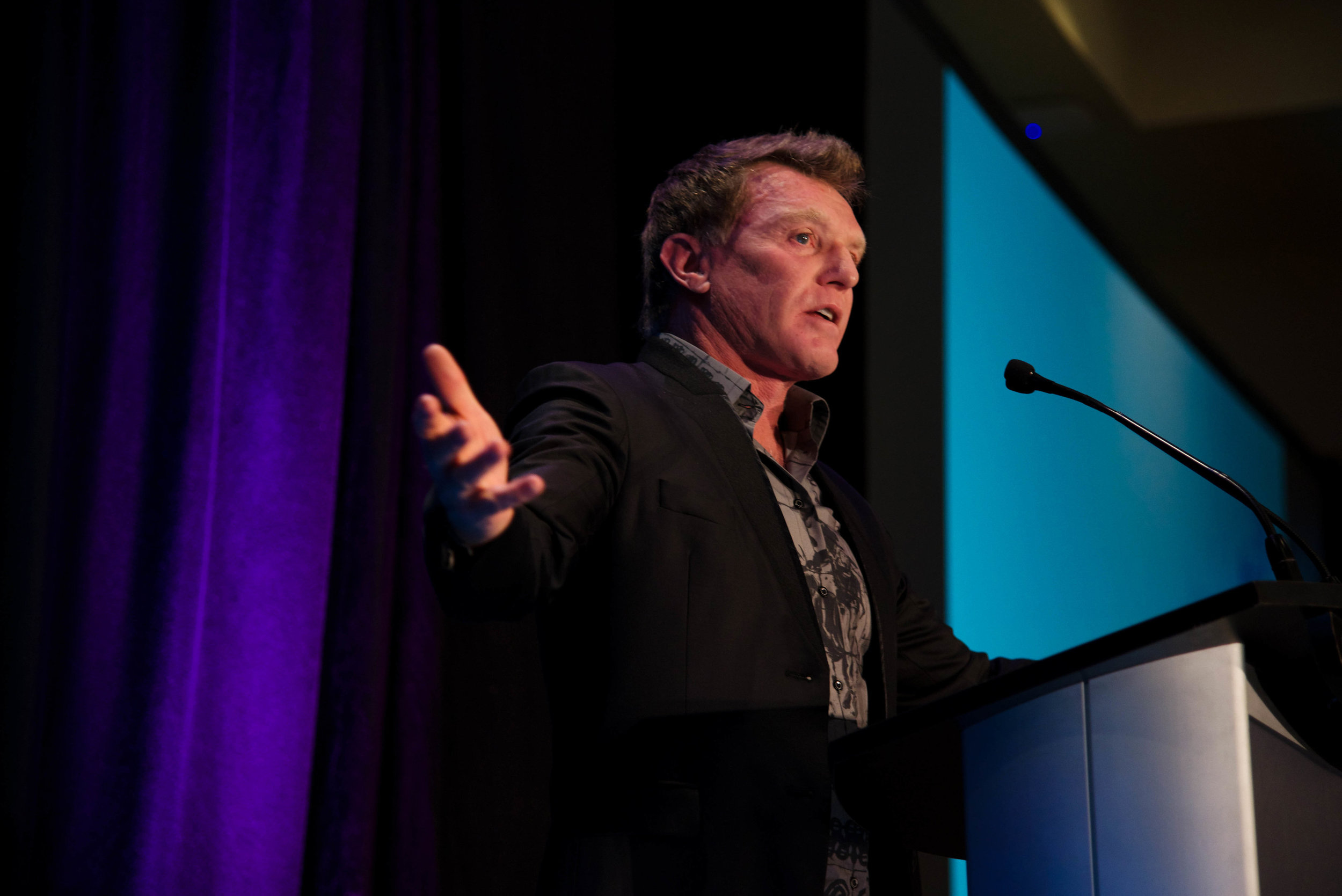 Tom has become a passionate advocate for his favourite charities – spending much of his time promoting awareness surrounding mental and emotional health issues and suicide prevention initiatives. (Photo provided by BC Cancer Foundation – Discovery Lunch)