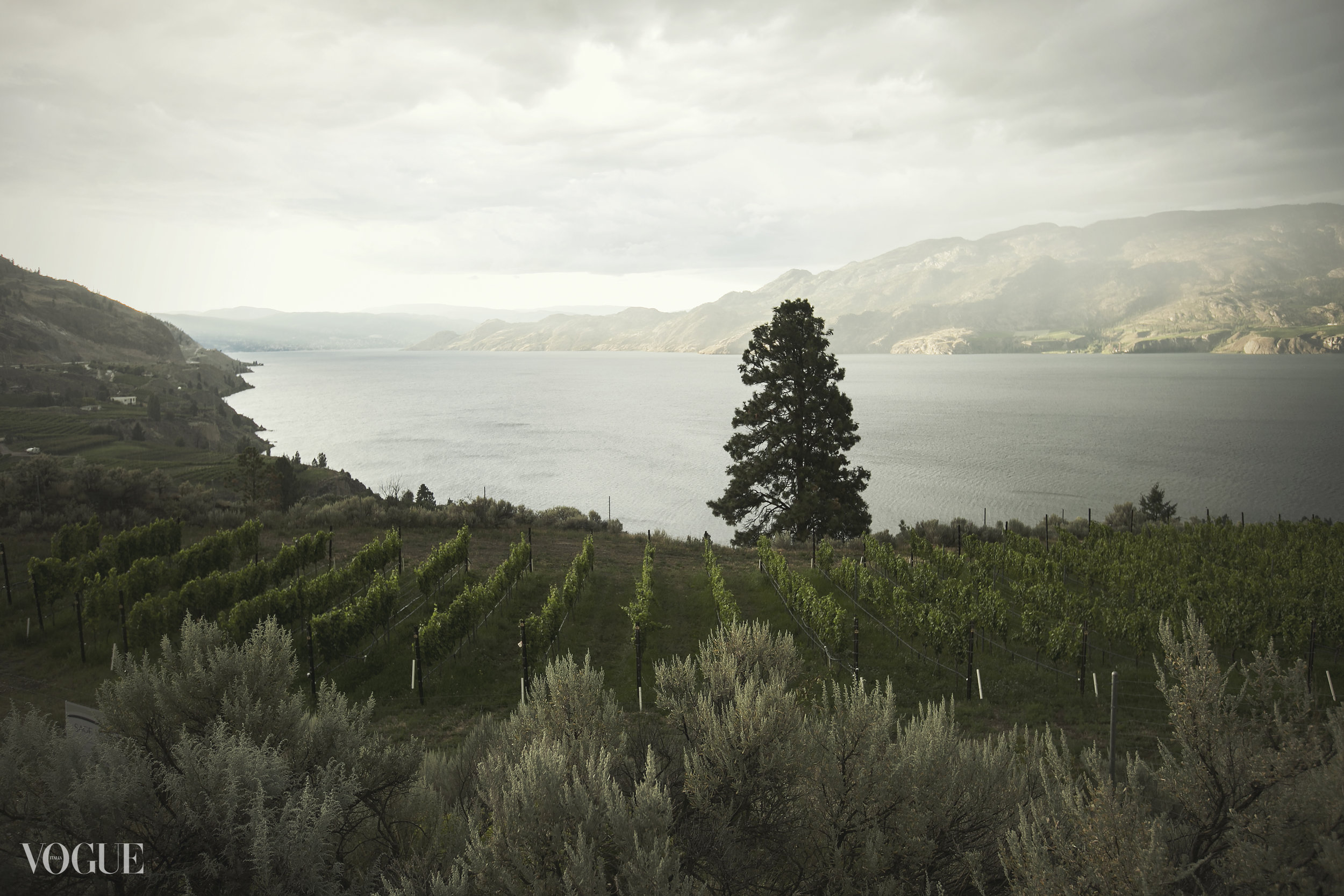 Summerland, BC Okanagan Lake view
