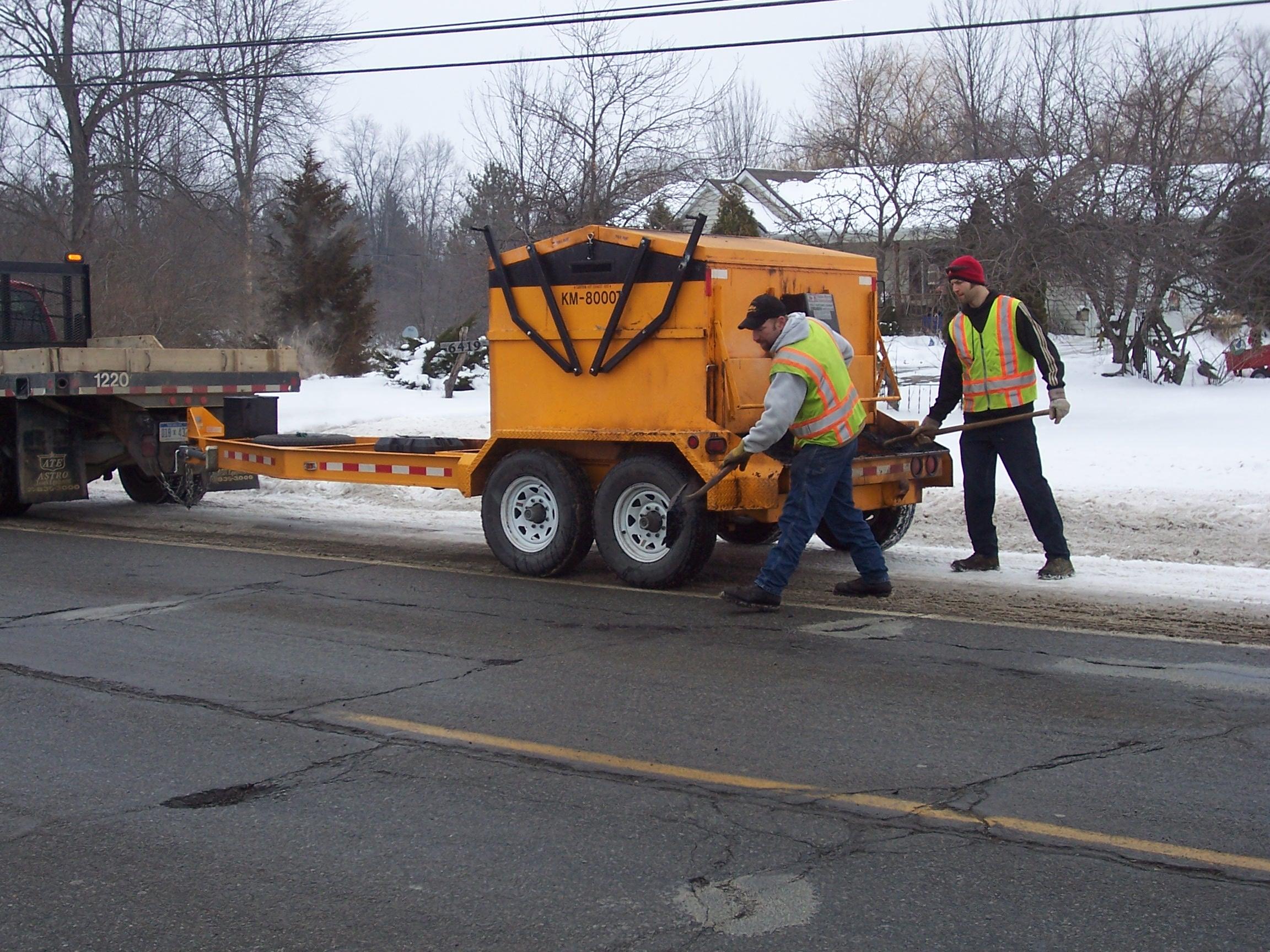 Emergency Road Repair -
