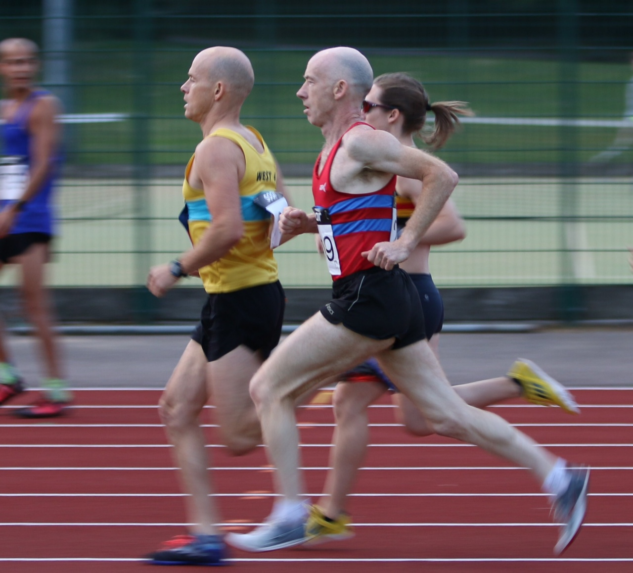 open track events -