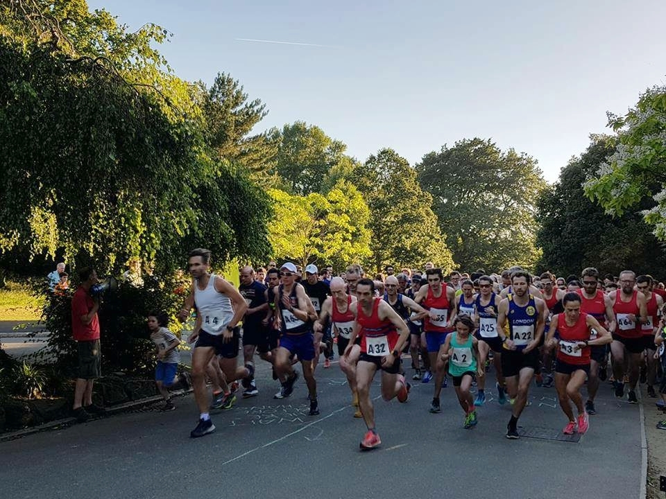 Wednesday 26 june 2019 - Fun Run 7pm startRelays 7.30pm startDulwich Park, SE21 7BQ