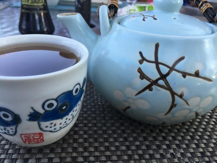 Double Ai Ceramic Tea Set