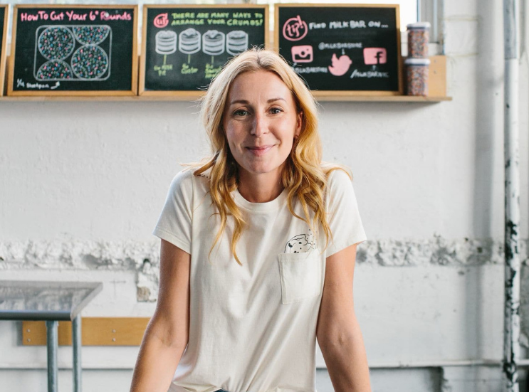 You can follow Milk Bar and her culinary creations on IG @ChristinaTosi