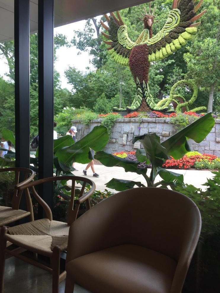 Places to eat near Atlanta Botanical Gardens_Longleaf Restaurant_Outdoor Sculpture_K.Martinelli Blog_Kristen Martinelli.png