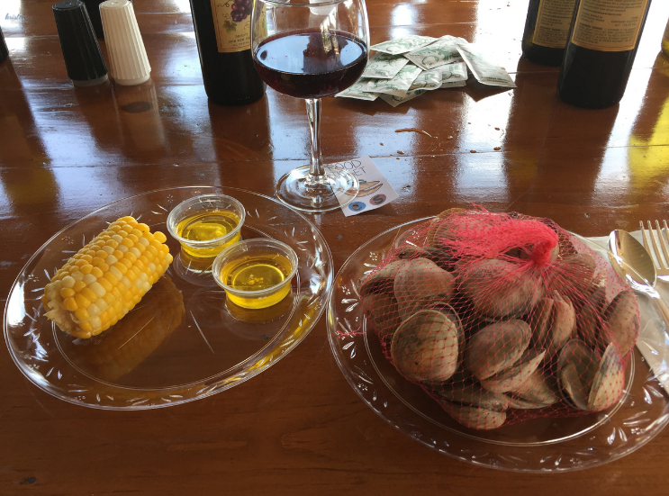 2019 Brook Hollow Winery Clam Bake_First Course_Columbia NJ _ K.Martinelli Blog_Kristen Martinelli.png