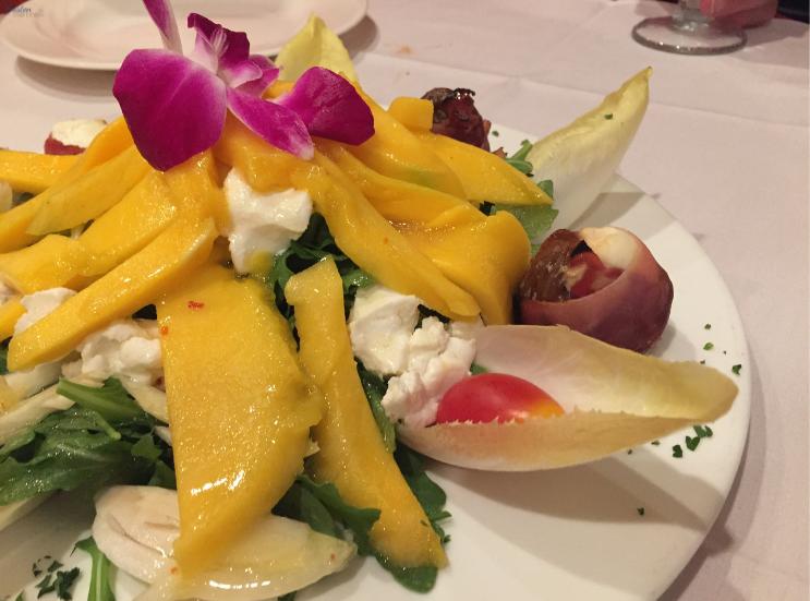 Stefano's Restaurant Route 23_ Mango Fig Salad_K. Martinelli Blog_Kristen Martinelli.png