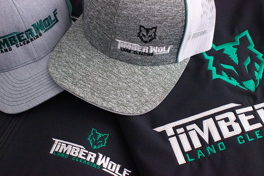 TimberWolf Land Clearing Apparel by Lettering Express