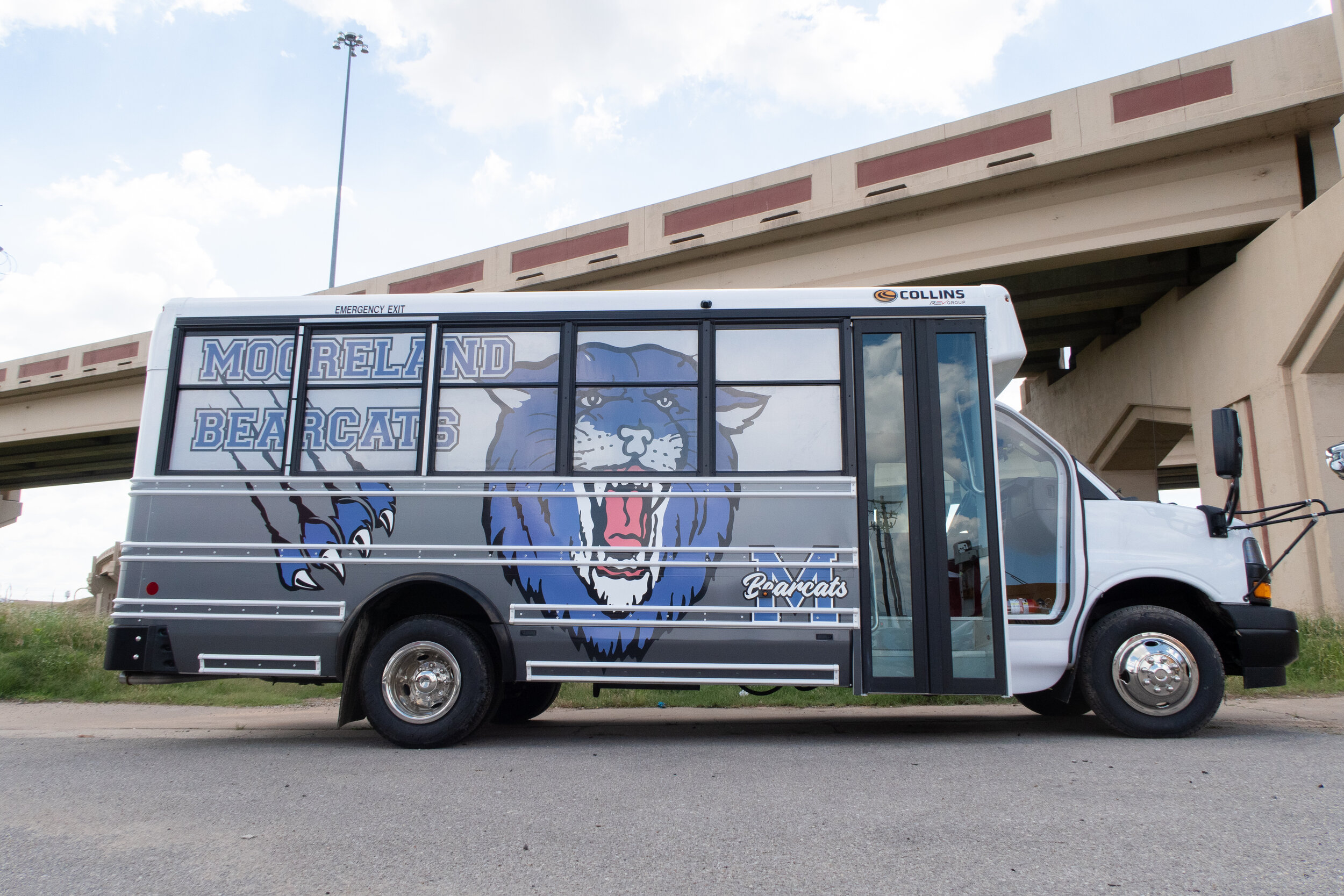 Mooreland Bearcats school bus wrap.jpg