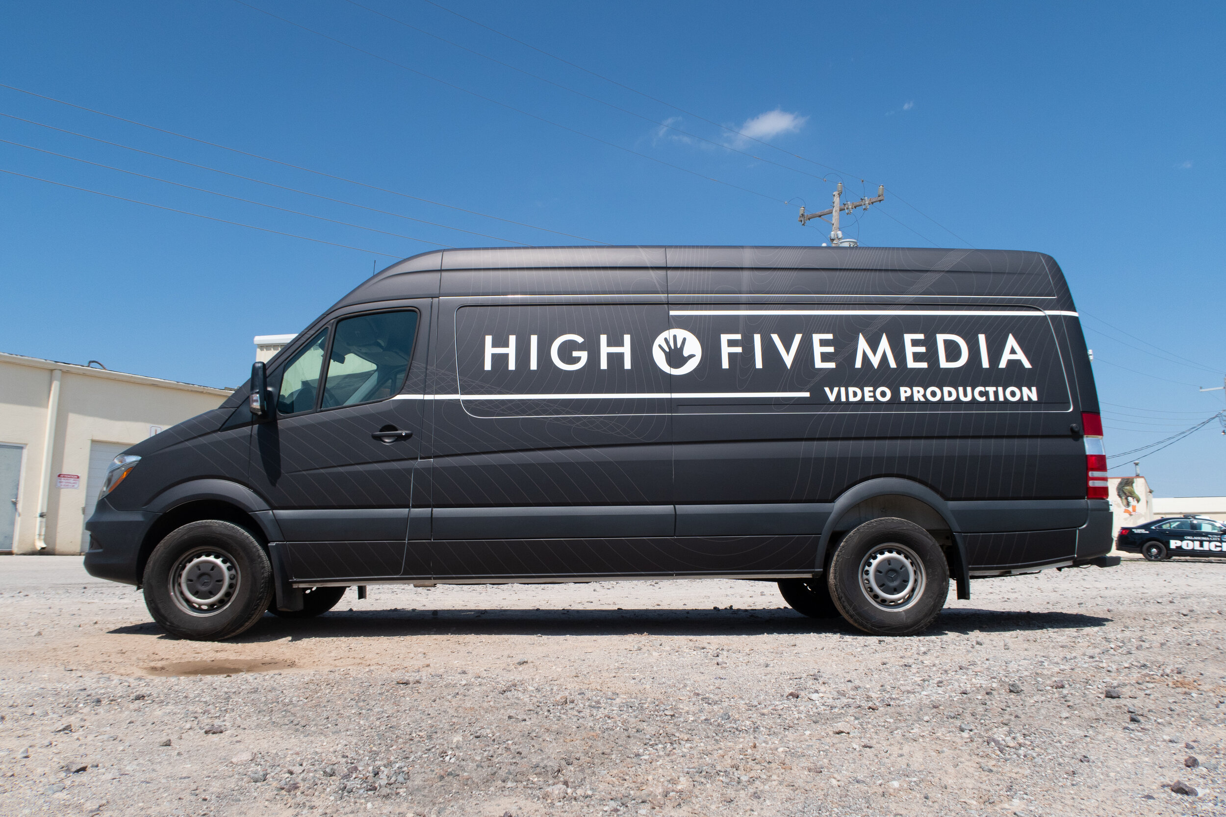 High Five Media video production commercial vehicle wrap.jpg