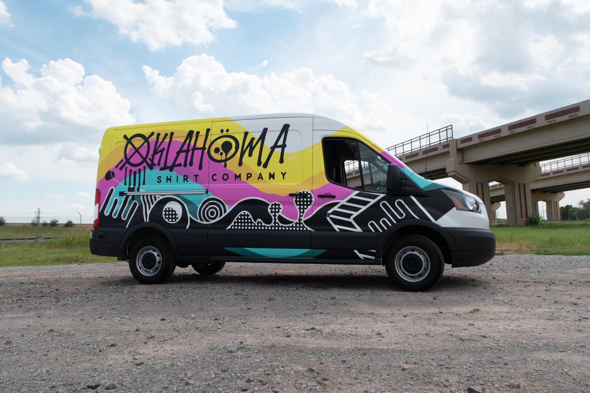 Oklahoma Shirt Company commercial van wrap (2).jpg