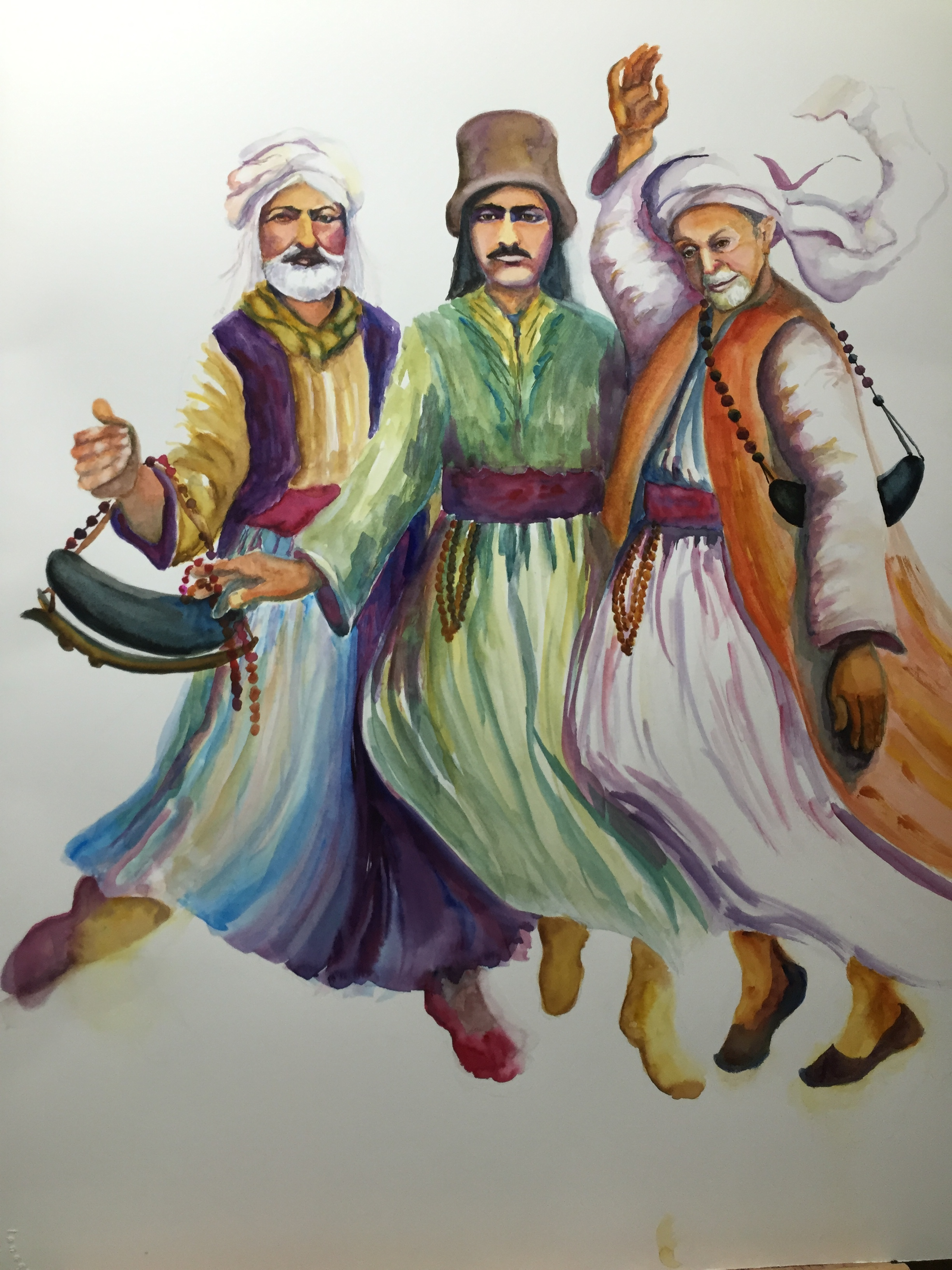 THE THREE DARVISHES (commissioned)