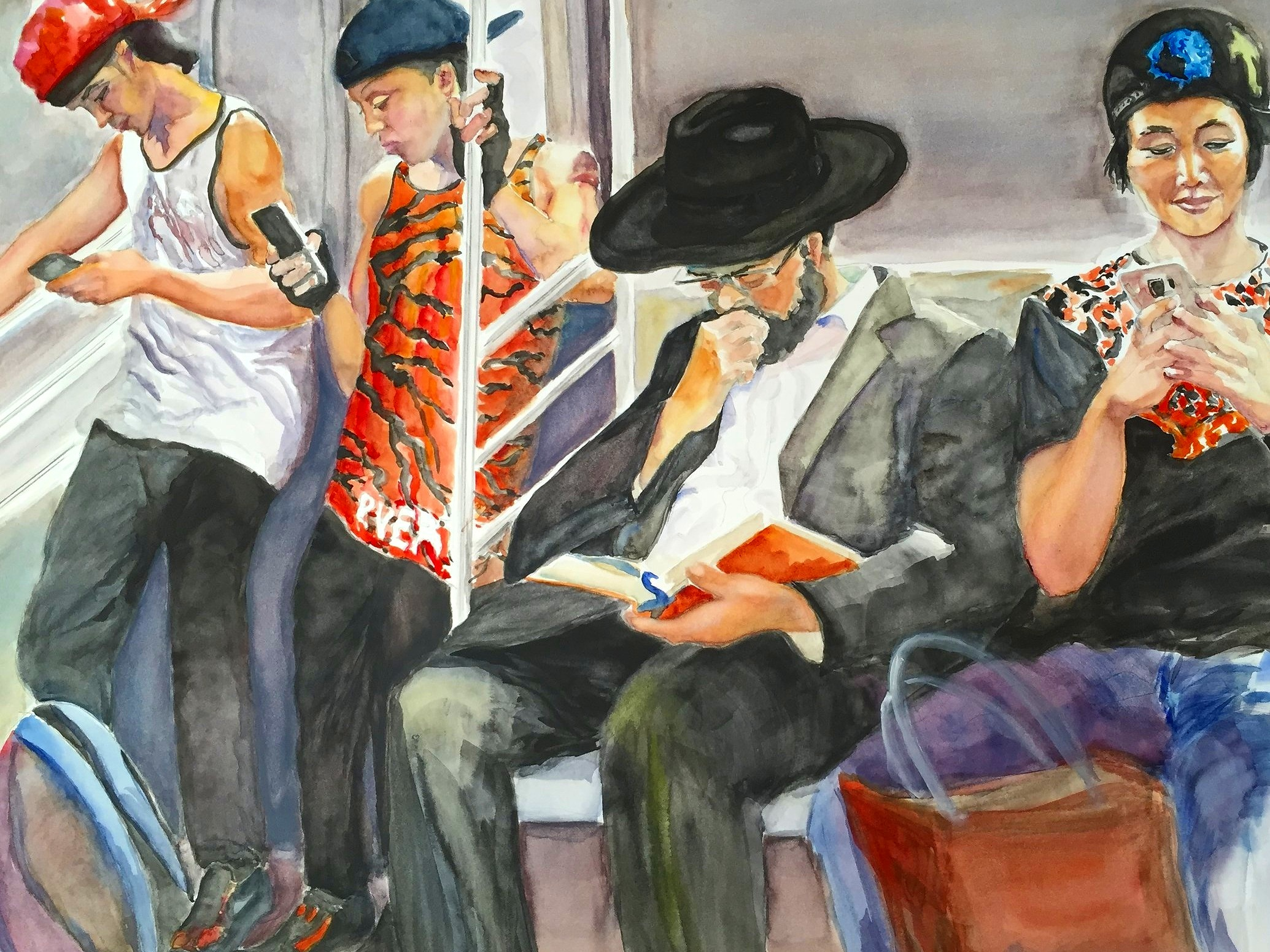 SUBWAY CHATTER (SOLD)