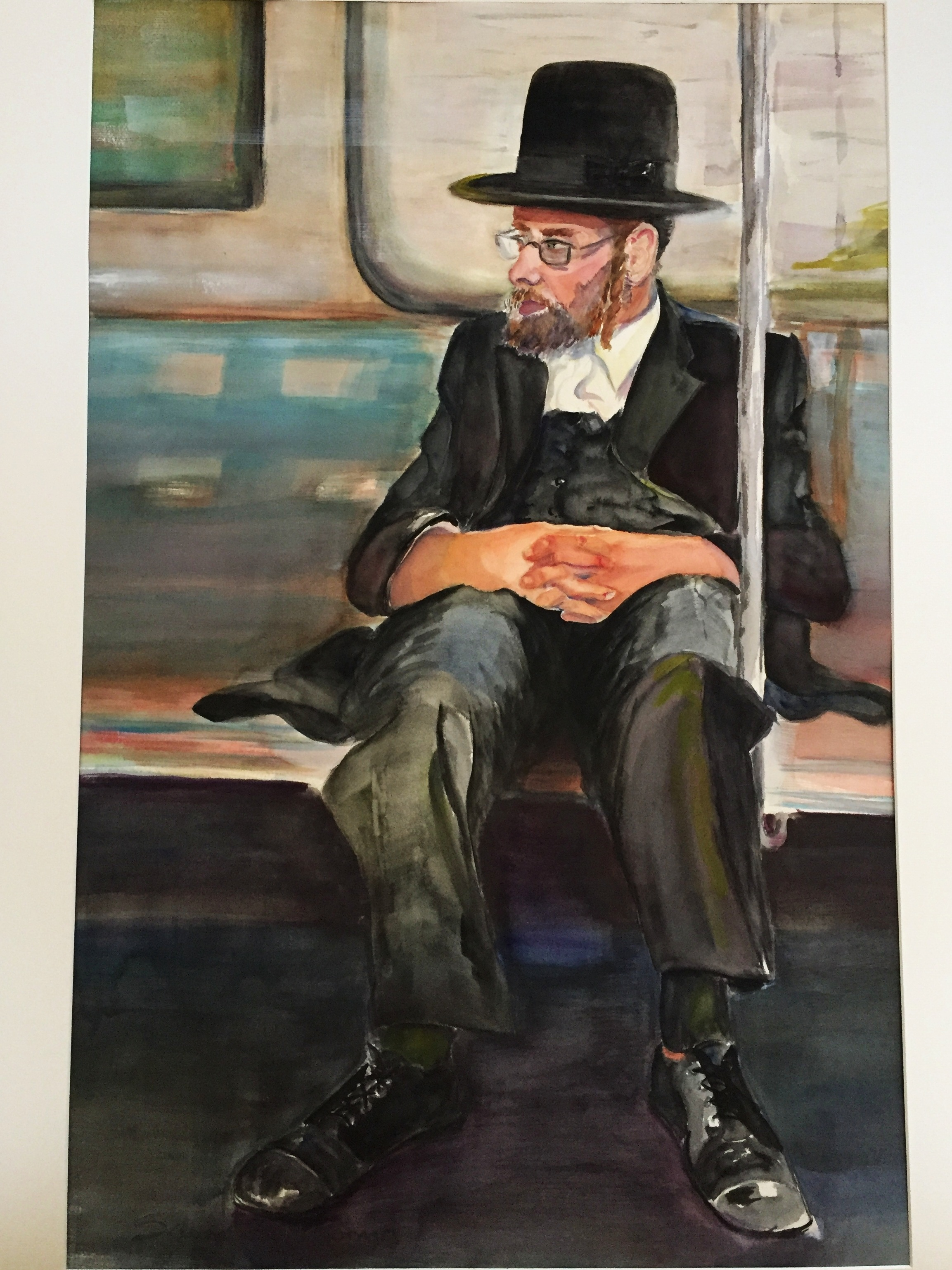 SUBWAY RABBI