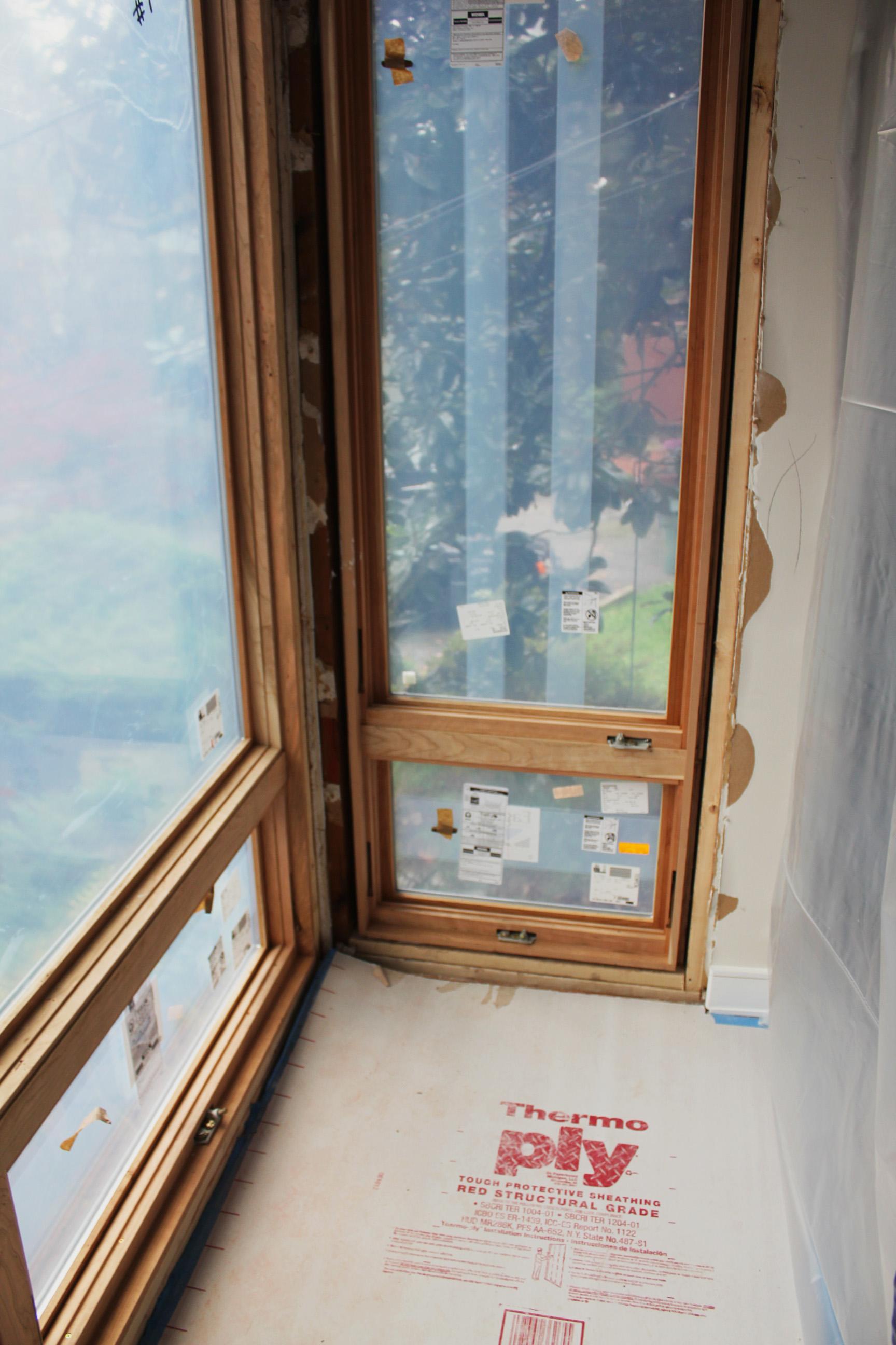 Window Installation: Washington DC renovaiton