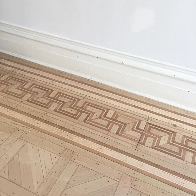 Refinishing wood floors in Brooklyn. #prospectheights #brownstone