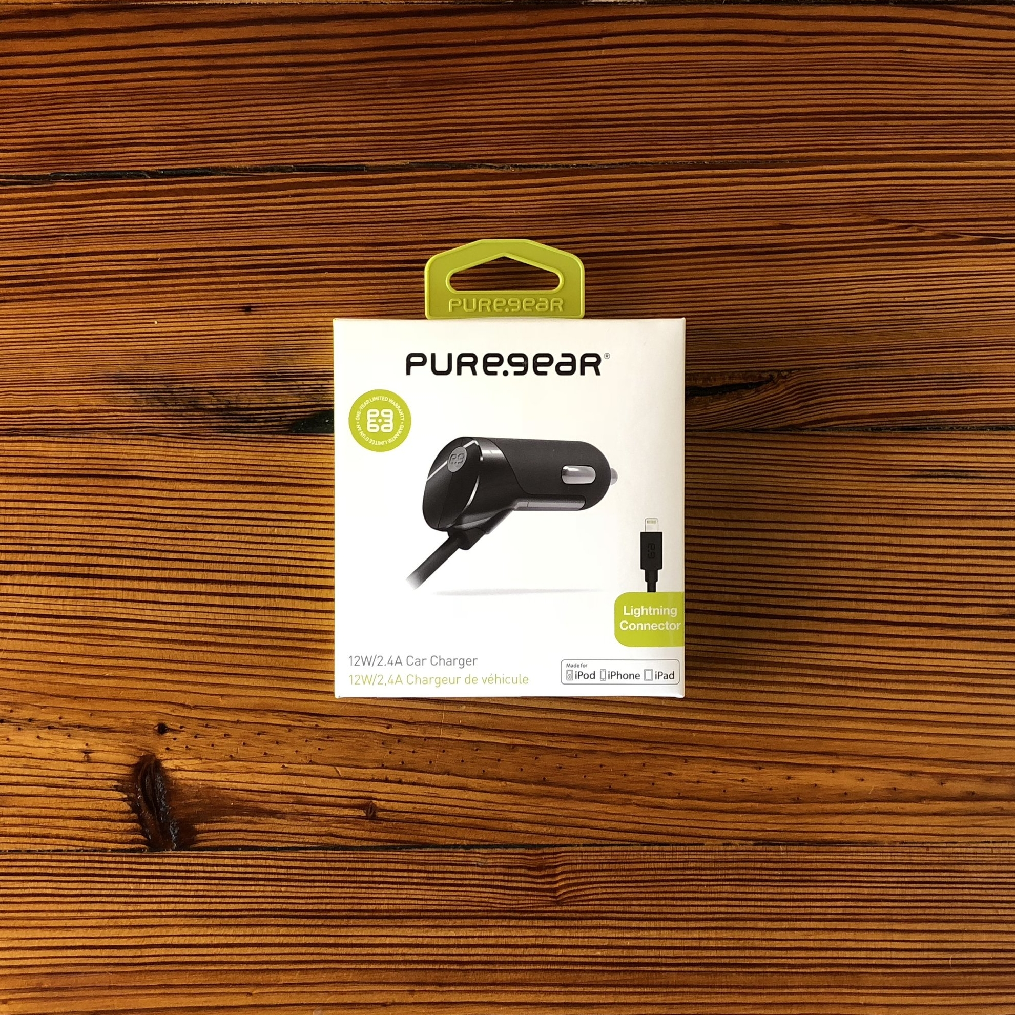 PUREGEAR   LIGHTNING CAR CHARGER