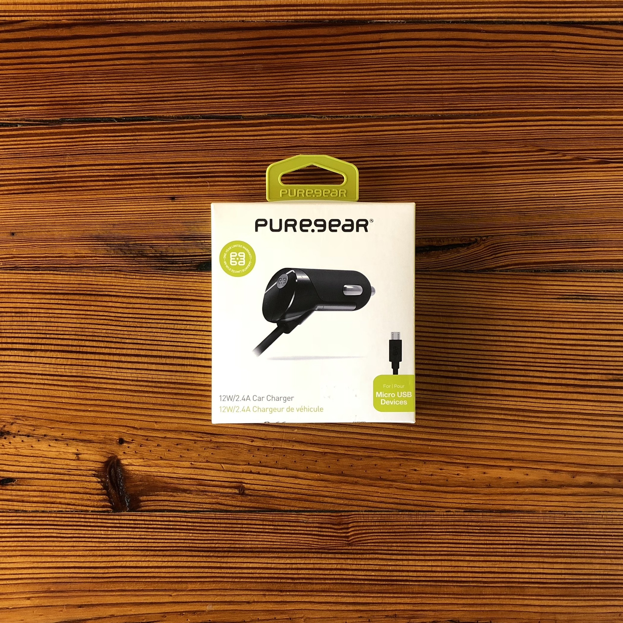 PUREGEAR   MICRO USB CAR CHARGER