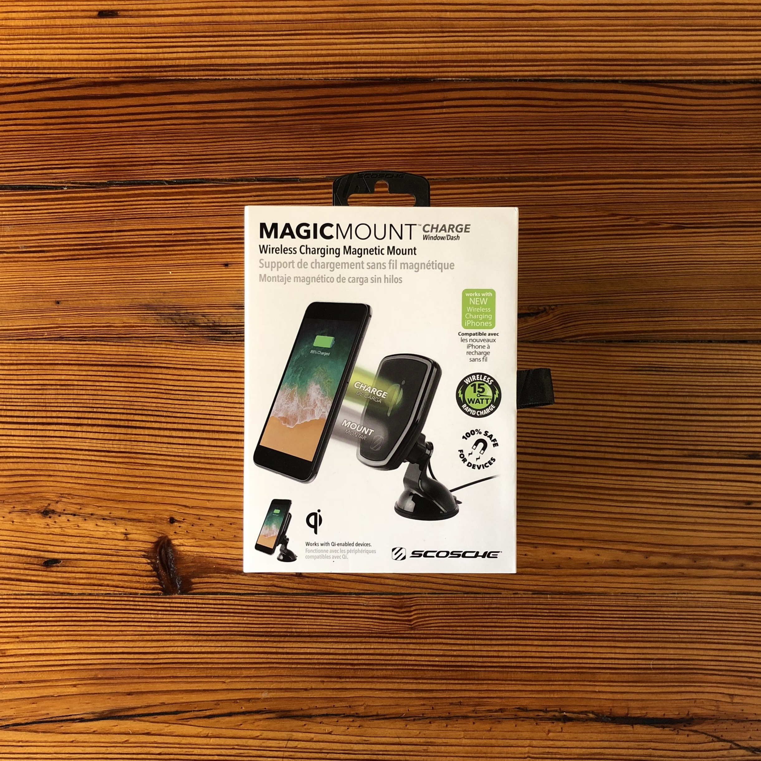 SCOCSHE   MAGNETIC WIRELESS CHARGER