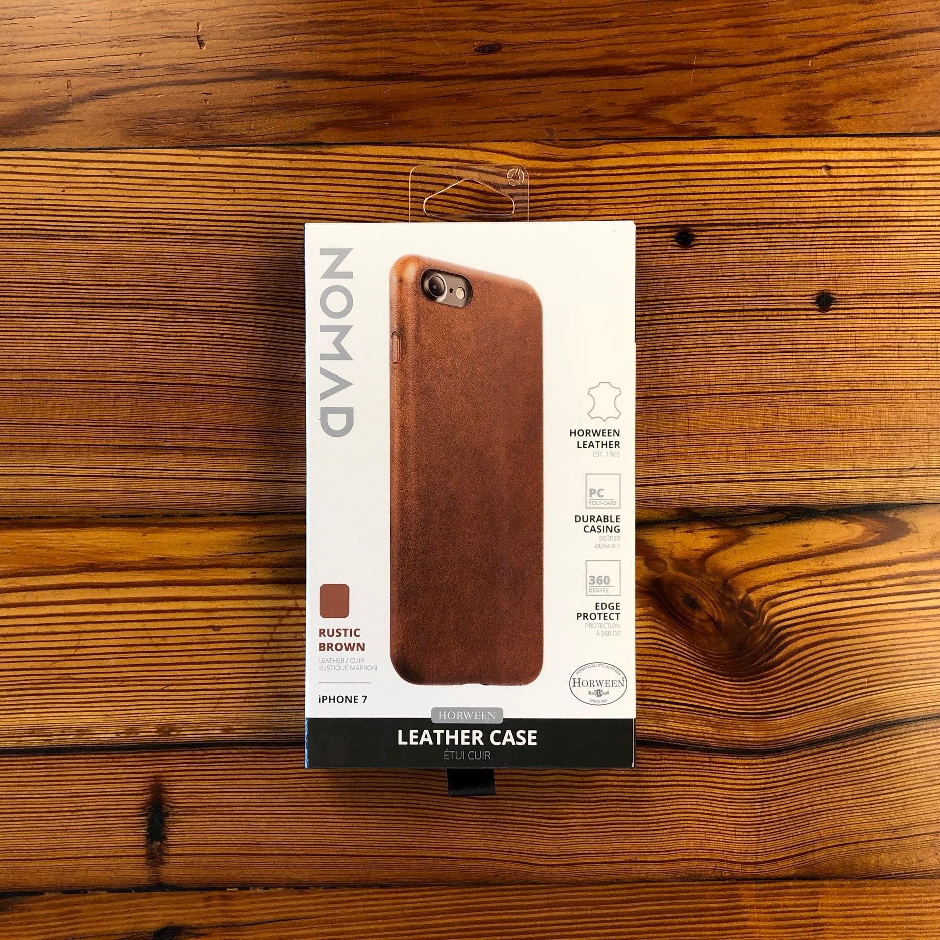 NOMAD leather case -