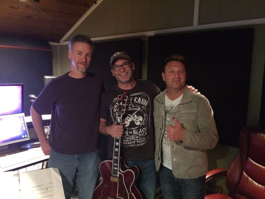 In the studio with Tim Roberts and Tim Rushlow