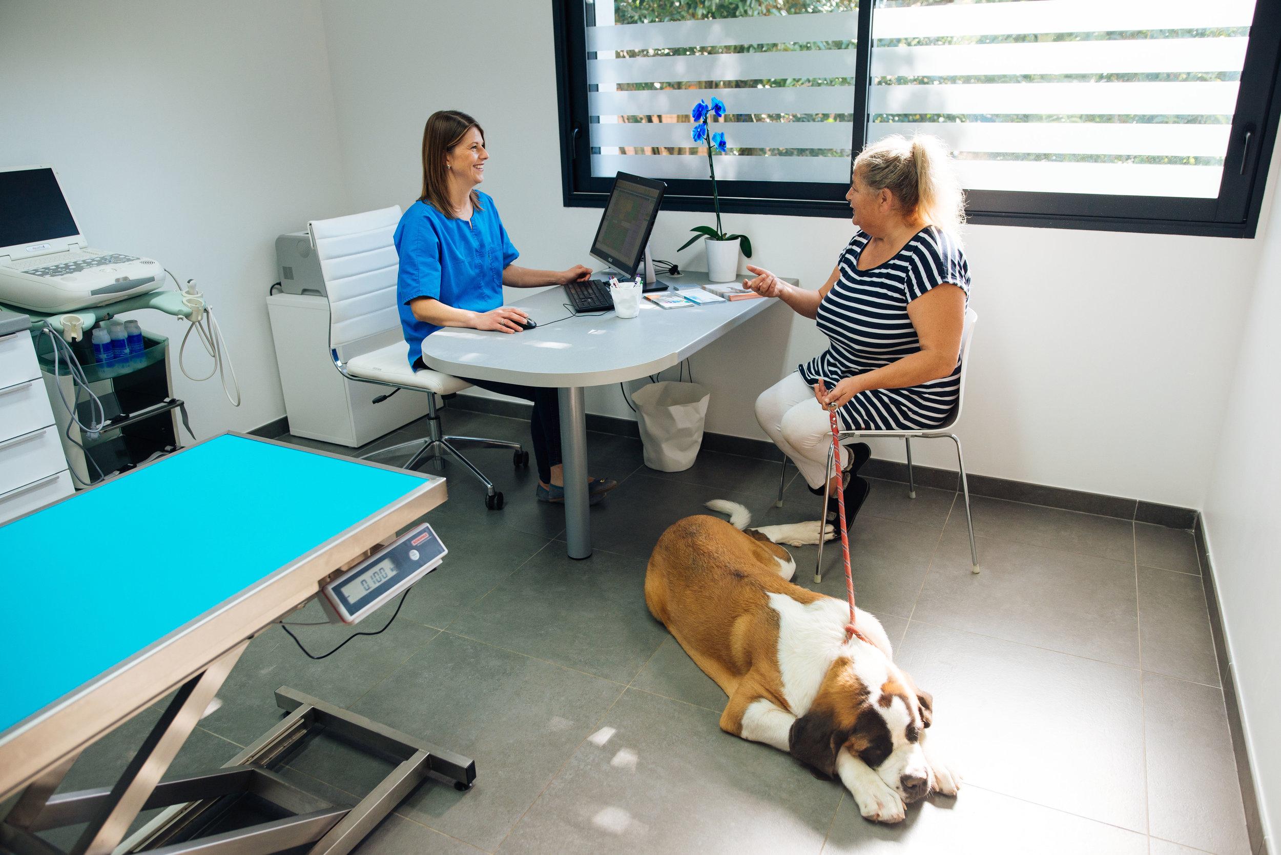 Salle de consultation -