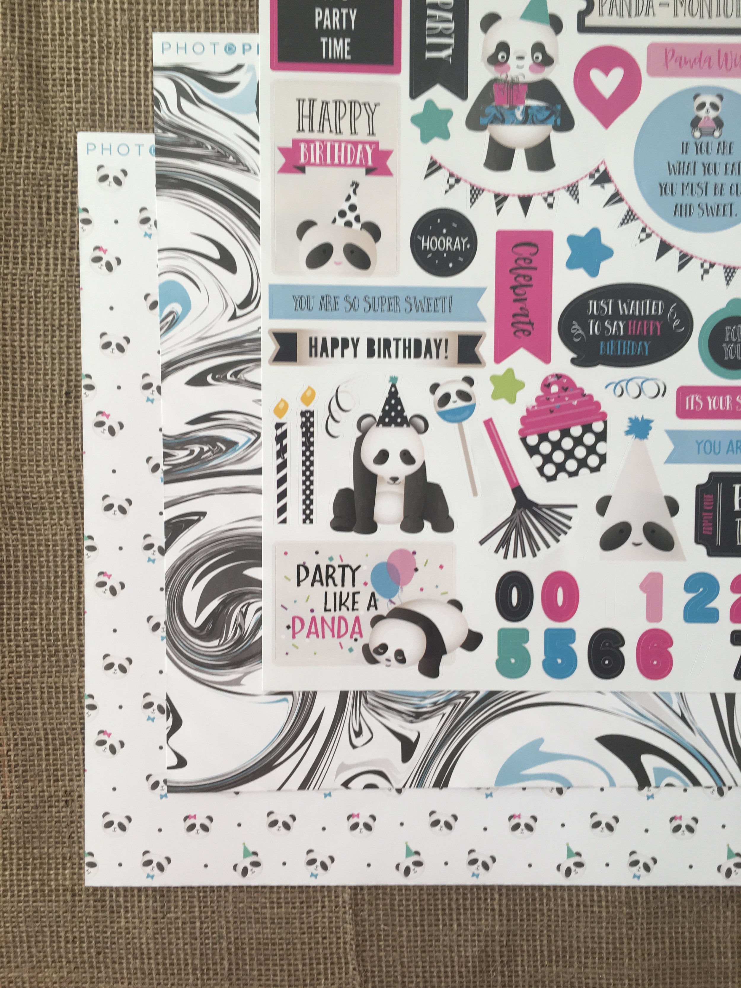 Photo Play Paper