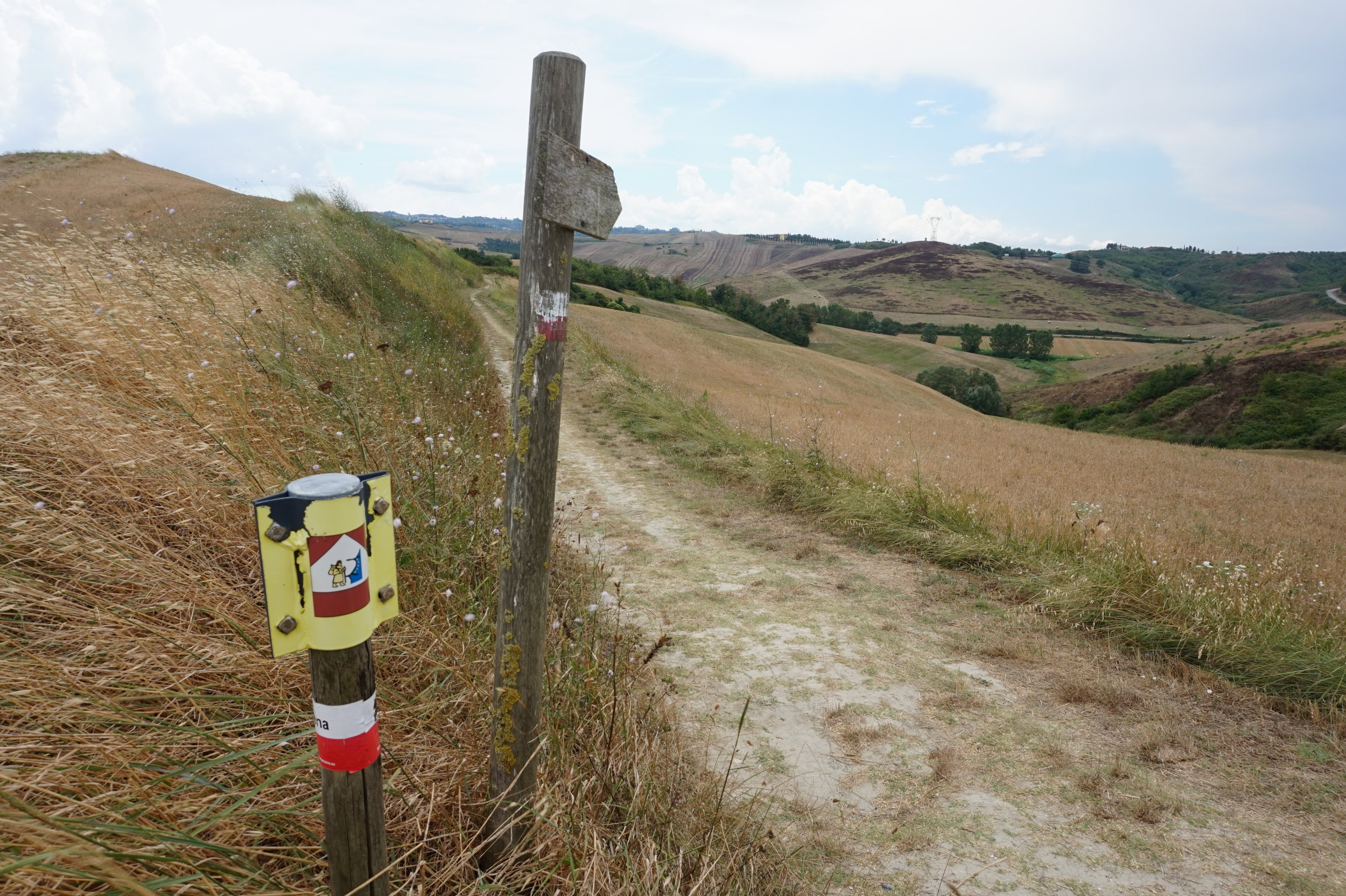 Hiking in Tuscany, Via Francigena