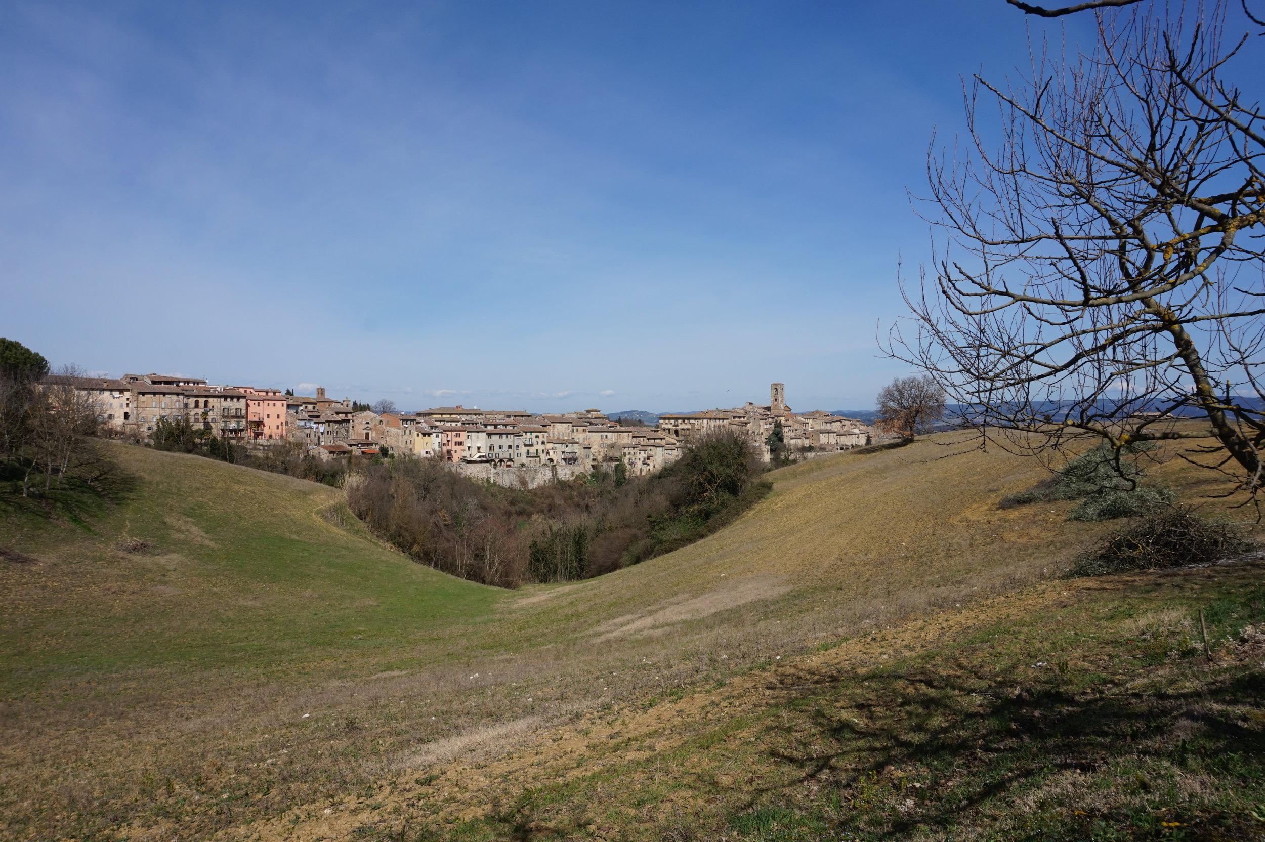 Hiking in Chianti