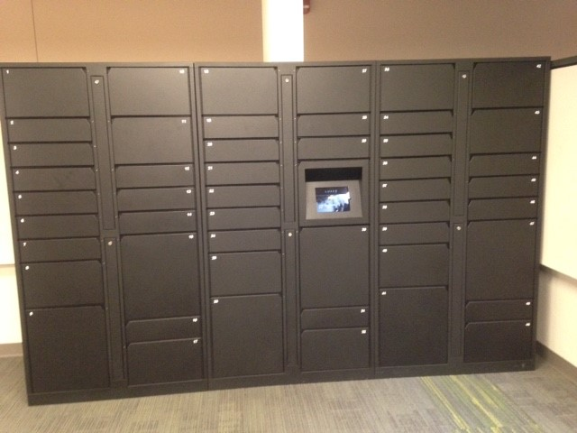 TMG's Intelligent Delivery Lockers at a NJ University -
