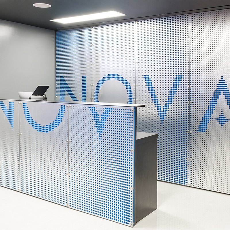 Nova Fitness Studio & Custom Reception Desk