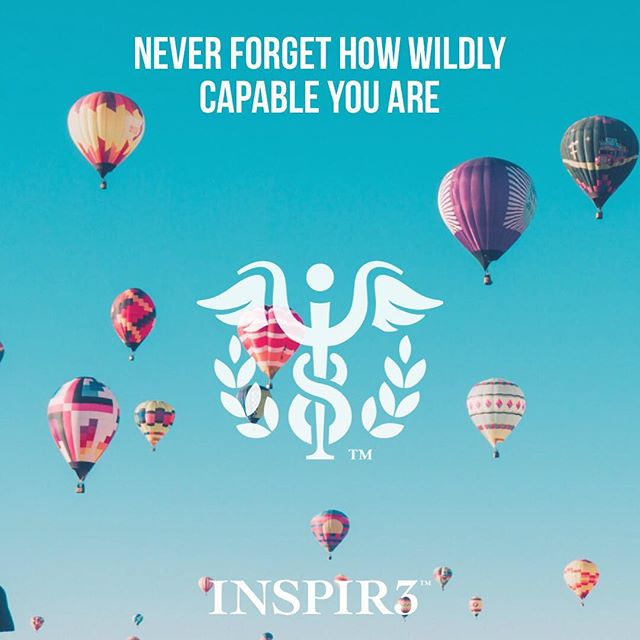 Never forget how wildly capable you are. . . . . . . . #INSPIR3 #MentalHealthAwareness #helphealinghope #solution #mentalhealth #mentalhealthmatters #youmatter #mentalhealthsolution #inspire #mentalwellness #begreater #together #community #family #friends #bringmentalwellness #inspir3change #changecampaign