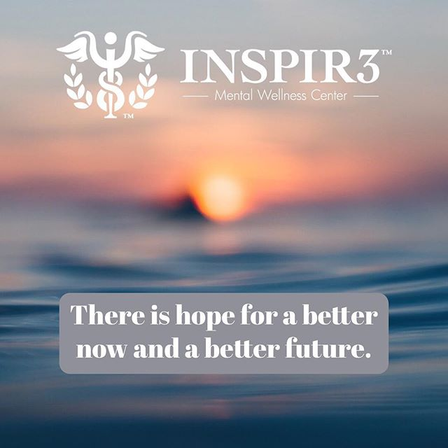 There is hope for a better now and a better future. INSPIR3 is a solution for mental health and substance abuse treatment. . . . . . #INSPIR3 #MentalHealthAwareness #helphealinghope #solution #mentalhealth #mentalhealthmatters #youmatter #mentalhealthsolution #inspire #mentalwellness #begreater #together #community #family #friends #bringmentalwellness #inspir3change #changecampaign