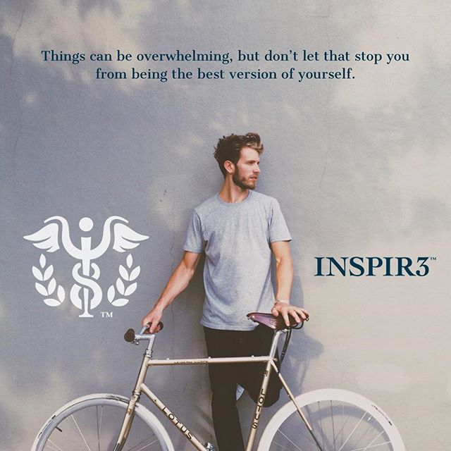 Things can be overwhelming, but don't let that stop you from being the best version of yourself. . . #INSPIR3 #MentalHealthAwareness #helphealinghope #solution #mentalhealth #mentalhealthmatters #youmatter #mentalhealthsolution #inspire #mentalwellness #begreater #together #community #family #friends #bringmentalwellness #inspir3change #changecampaign