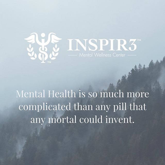 Mental Health is so much more complicated than any pill that any mortal could invent. We need to focus on improving the availability and affordability of mental health professional services. The U.S. needs 67% more mental health professionals. We need a drastic change to improve our accessibility and affordability of mental health treatment. INSPIR3 plans to be that change to train and certify hundreds of mental health professionals annually while providing Your communities with quality and professional mental health services at affordable prices. If you believe in making a change to improve our mental health system, give us a like and follow @inspir3nv ! Thank you! . . . . . . . . . . . . . . #INSPIR3 #MentalHealthAwareness #helphealinghope #solution #inspire #love #mentalhealth #follow #share #mentalhealthmatters #youmatter #mentalhealthsolution #mentalwellness
