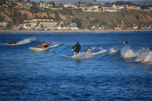 PEAK: Doheny State Beach - Not the library!DIFFICULTY: 2/5SCENERY: California's 1st State BeachFUN FACTS:Formerly know as