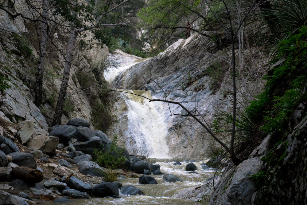 PEAK: SWITZER FALLS - DIFFICULTY: 3/5SCENERY: The Angeles National Forest and Arroyo Seco. Hopefully a few stream crossings too!