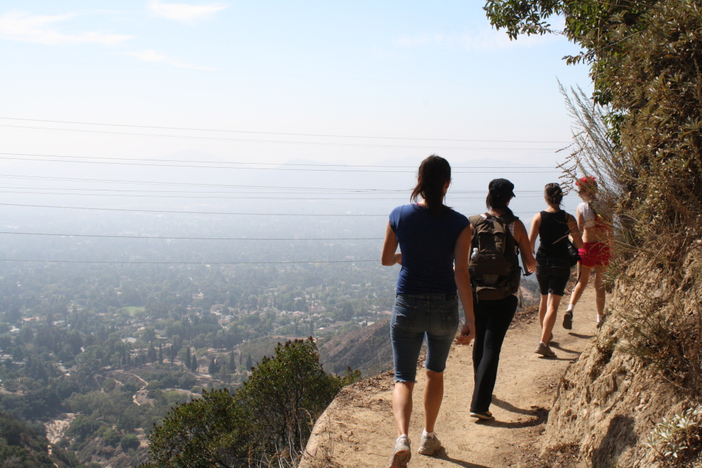 PEAK: Echo Mountain - DIFFICULTY: 3/5SCENERY: At Echo Mountain, you'll see the city of LA on one side, and some big ol' mountains on the other!FUN FACT: YOU will have FUN if YOU come on this hike!! Plus, you'll learn some more interesting facts about Echo Mountain!