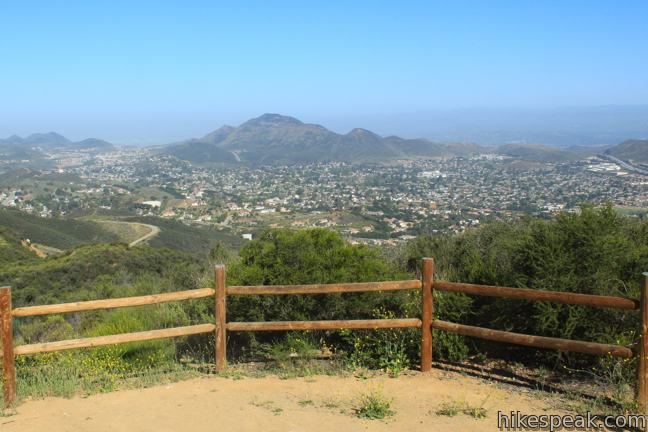 PEAK: Los Robles Trail to Angel Vista Point - DIFFICULTY: 3.5/5SCENERY: Oak Groves, Rolling Hills, and a 360 degree view of the entire area, including the Santa Monica Mountains, Hidden Valley, and the Oxnard PlainsFUN FACT: On a super clear day you can even see the ocean and Channel Islands!