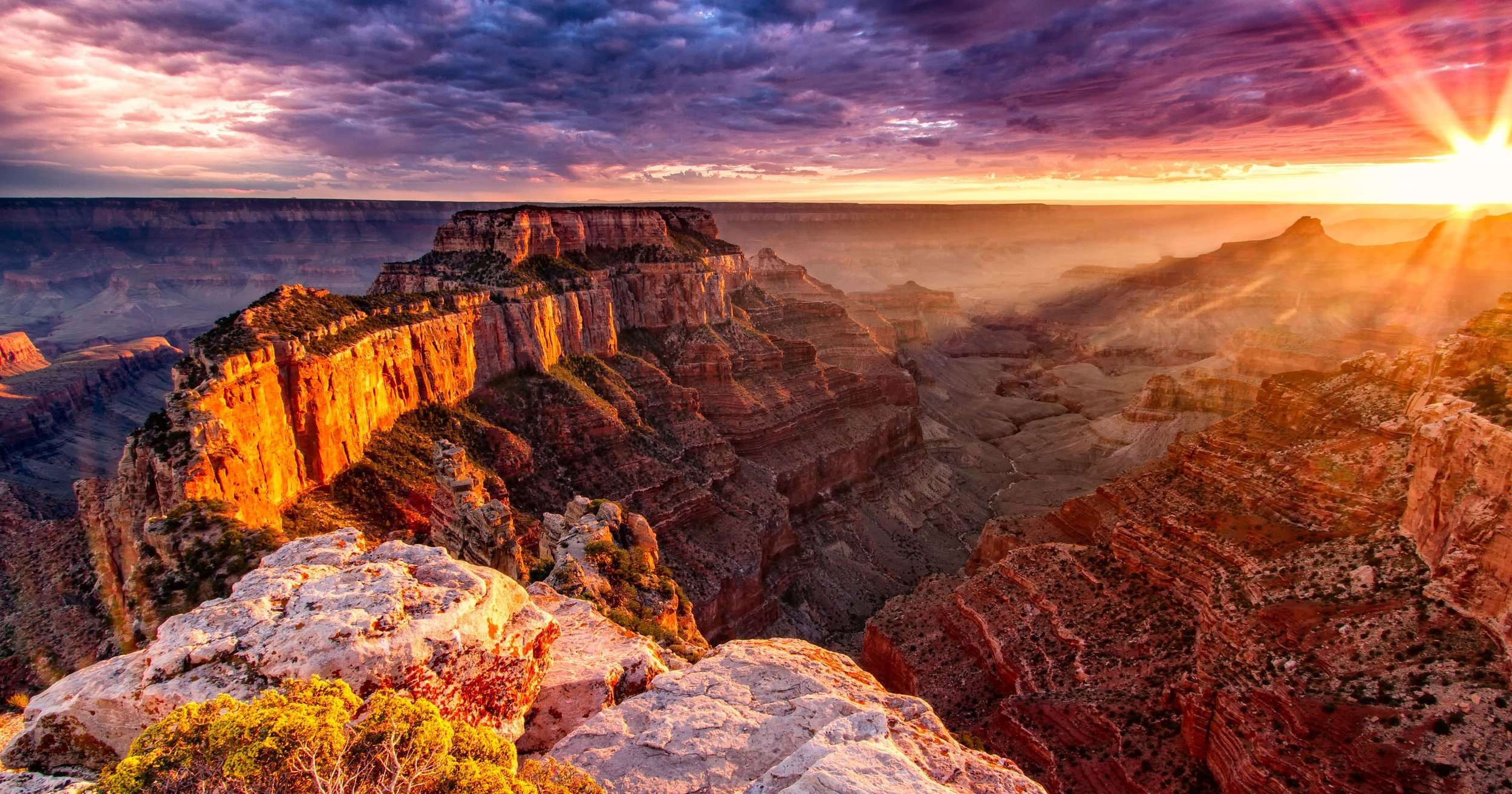 PEAK: THE GRAND CANYON - The World's most magnificent hole!DIFFICULTY: 4/5THE PLAN: Drive up to the canyon early Friday and do a sunset hike, full-day hike into the canyon Saturday, and then grab some last views before heading back via old Route 66.SCENERY: The Grand CanyonFUN FACT: 2019 is Grand Canyon National Park's 100th anniversary!