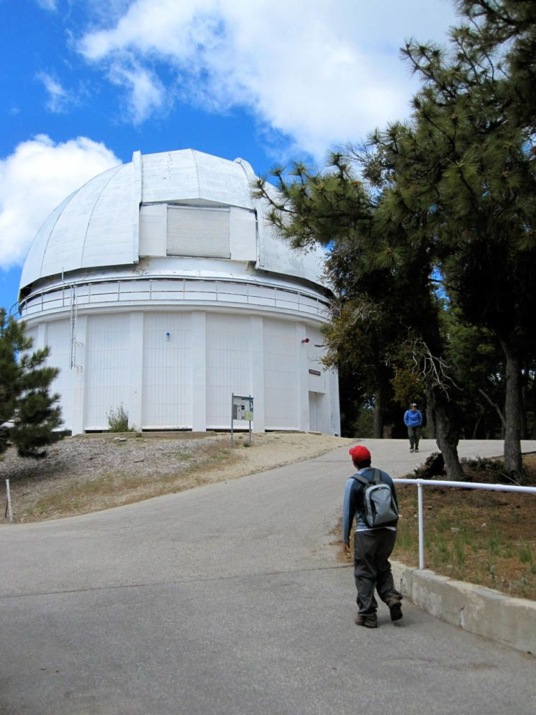 PEAK: Mt. Wilson Observatory via Chantry Flats - DIFFICULTY: 5/5SCENERY: Green mountains as far as the eye can see, with trails cutting through creeks and past waterfalls.FUN FACT: The observatory is responsible for some of the most detailed photos of Mars that exist!