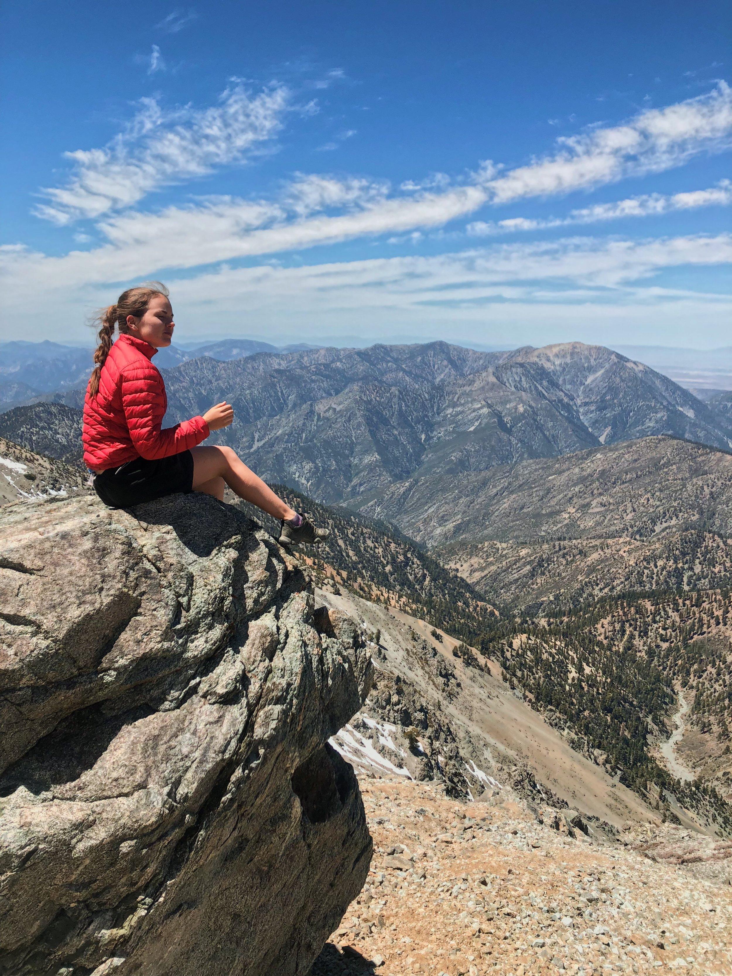 TRIP LEAD: Catherine Atkinson - Baldy climber extraordinaireContact Catherine: atkinsoc@usc.eduRead Catherine's bio here.