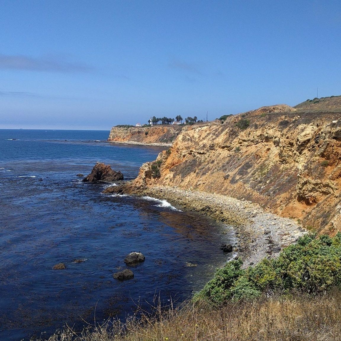 """PEAK: Terranea Discovery Trail - DIFFICULTY: 1/5SCENERY: Hike along the Pacific Ocean and take a dip at the middle of our hike!FUN FACT: The word """"Pacific"""" means peaceful. The Pacific Ocean got its name from the explorer Ferdinand Magellan. He called the ocean """"mar pacific"""", which meant peaceful sea."""