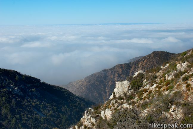 PEAK: INSPIRATION POINT - DIFFICULTY: 3/5SCENERY: canyon views, LA panoramas, San Fernando ValleyFUN FACT: This trail features ruins from the Mt. Lowe railroad, the third scenic railroad in the US, which ran from 1893-1938!
