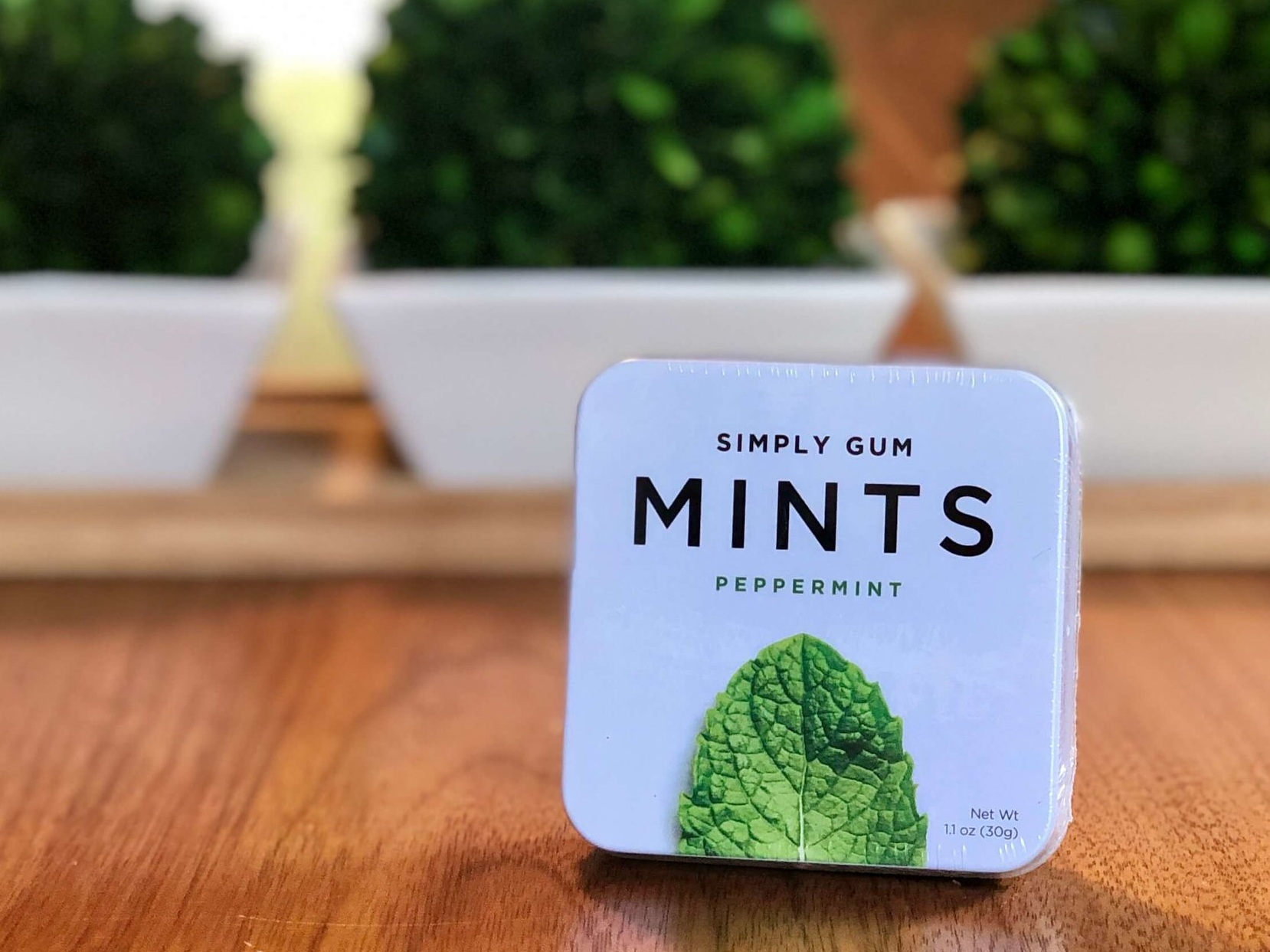 Mints - PeppermintOnly natural ingredients. Vegan, gluten free, and Kosher certified. No artificial flavors, preservatives, or synthetics.Made in NY.